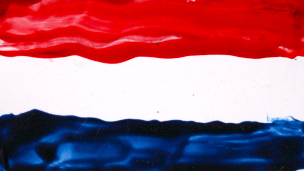 painting dutch flag